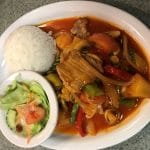 Thai food dish in Sequim, WA